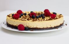 Healthy Valentine Cheesecake with Leftover Cupcakes