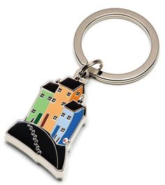 Beside The Sea Keyring by Paul Horton. Available from Artworx Gallery. www.artworx.co.uk