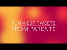 Funniest tweets from parents - these are so TRUE!  http://www.mommydesigns101.com/funny-tweets-by-parents/