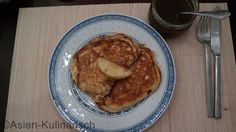Apfelpfannkuchen mit 5-Spice