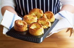 Learn how to make Yorkshire puddings from scratch with our simple step-by-step guide. Find Yorkshire pudding recipes and more guides at Tesco Real Food today.How To Make Yorkshire Puddings Easy Yorkshire Pudding Recipe, Yorkshire Pudding Wrap, How To Make Yorkshire Pudding, Cooking Joy, Cooking Light, Cooking Recipes, Cooking Tips, Healthy Treats, Healthy Desserts