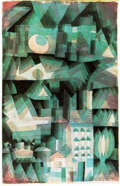 Klee Dream City, 1921, Private, Turin