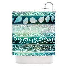 KESS InHouse Dreamy Tribal Shower Curtain