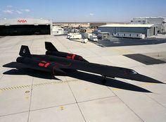 SR-71 Blackbird owned by NASA