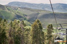 A grand chairlift exit at Granby Ranch in Colorado. My Big Day Events, Colorado: Wedding Planners, Party Planners, Event Extraordinaires! Loveland, Fort Collins, Windsor, Cheyenne, Mountains. http://www.mybigdaycompany.com/ #wedding #mountains #chairlift