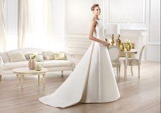 Pronovias te presenta el vestido de novia Yelibeth. Atelier Pronovias 2014.   Pronovias