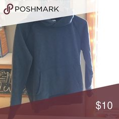 Gap navy hooded sweatshirt This navy hooded sweatshirt is a basic staple for your wardrobe. Perfect for loungewear or for a sporty loom with your favorite denim. GAP Tops Sweatshirts & Hoodies