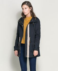 Image 2 of QUILTED PARKA from Zara