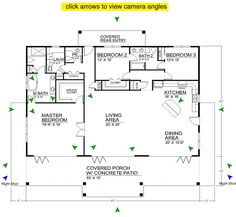 open floor plans   Clearview 2400S – 2400 sq ft on slab   Beach House Plans by Beach ...