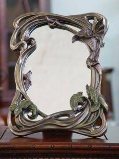 Resultado de imagen de marcos espejo ART NOUVEAU