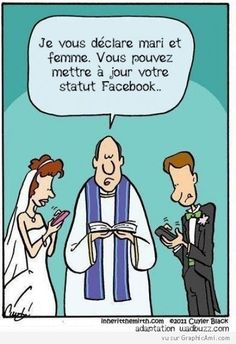 Mariage Facebook - GraphicAmi