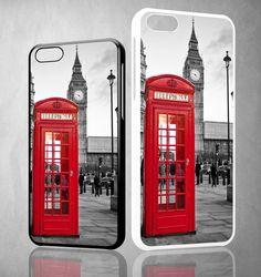 london telephone booth wallpaper Y1314 iPhone 4S 5S 5C 6 6Plus, iPod 4 5, LG G2 G3 Nexus 4 5, Sony Z2 Case