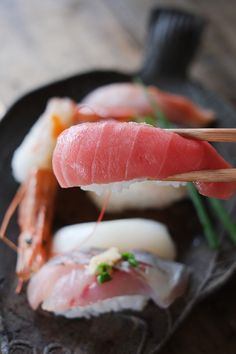 Sushi || I love sushi! Look how delicious this looks