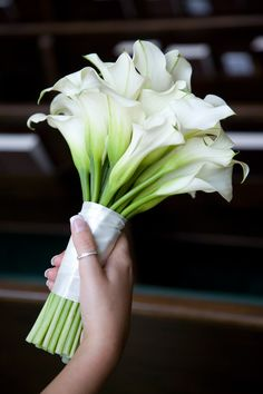 Calla Lily Bridal Bouquet from Bussey's Florist in #Rome GA.    http://busseysflorist.com/pages.php?pageid=6