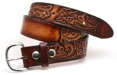 Leather name belt,Gavere Leather,High Springs Florida,Fort White Florida