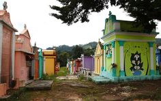 coz death may also be colorful - cemetery in Chichicastenango, Guatemala