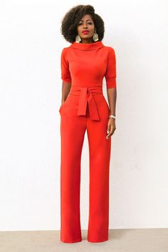 Style Pantry | FKSP Folded Collar Jumpsuit