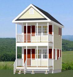 12x16 Tiny House 364 Sq Ft PDF Floor
