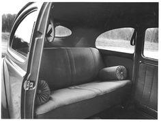 Split VW beetle interior