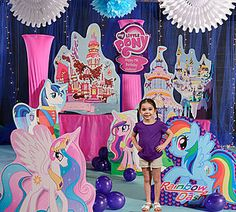 Our My Little Pony Party Kit will bring your favorite ponies to your party. @Christine Romero we should order