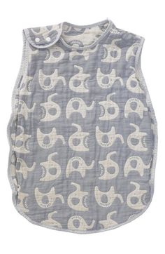 Living Textiles Reversible Muslin Wearable Blanket (Baby & Toddler)…