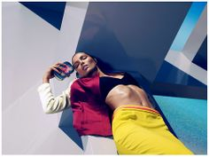Abstract fever Photo of Carola Remer by Camilla Akrans for H&M