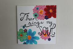 Canvas Painting Acrylic Flowers and Song by DignityAndDreams Painting Quotes, Acrylic Flowers, Colorful Backgrounds, Song Lyrics, Astrology, Music Lyrics, Lyrics, Horoscopes