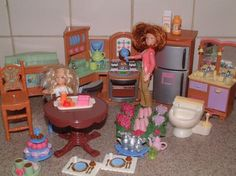Lot Fisher Price Loving Family Kitchen Item Stove Sink Dolls Plus Lot2