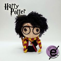 Harry Potter #amigurumi #harrypotter #crochet                                                                                                                                                                                 More