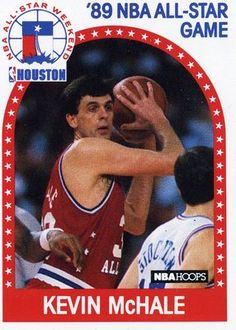 RARE 89/90 NBA HOOPS 89 NBA ALL-STAR KEVIN MCHALE BOSTON CELTICS MINT