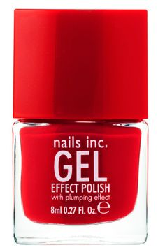 At-home gel effect mani!