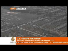 Here is our breaking news coverage of the large tornado that ripped through Oklohoma City in the US - flattening entire neighbourhoods.