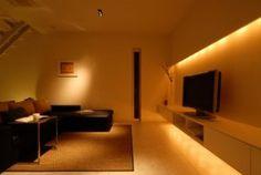 間接照明 | 注文住宅、家づくりのことならONE PROJECT Home Projects, Flat Screen, Interior, Room, House, Lighting, Blood Plasma, Bedroom, Indoor