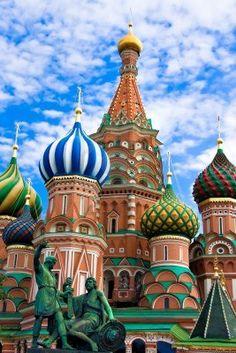 Catedral de San Basilio en la Plaza Roja, Moscú, Rusia