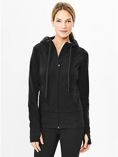 For Clara - GapFit stretch elements hoodie - or similar black hoodie/jacket, doesn't have to be this one.