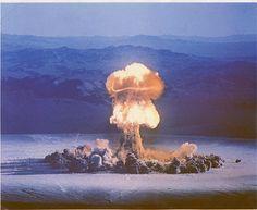 atomic test mushroom cloud