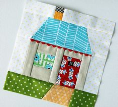 I LOVE the quilt block!