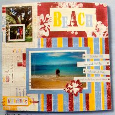 Scrapbook Page | Beach