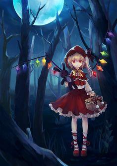Little Red Riding Hood Flandre Scarlet