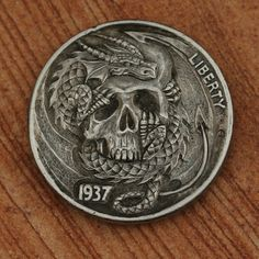 The Hobo Nickel is slang for the artistic modification of coins, usually nickels because they are softer than the others...