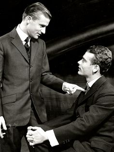 'Compulsion', the Broadway Play, is based on the infamous Leopold and Loeb trial.  Roddy McDowell, Dean Stockwell and Howard Da Silva starred.  It opened on October 24, 1957 at the Ambassador Theatre.