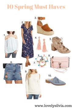 lovelysilvia - 10 Spring Must Haves
