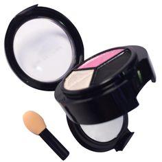 1 unids Etapa Maquillaje Mate sombra de Ojos Comestic de Larga Duración Natural de 3 Colores de sombra de ojos maquillaje Paleta de Sombra de ojos Para mujeres