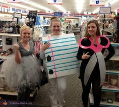 """Hilarious group costume ideas for Halloween: Rock, paper, scissors"" Could also expand and do lizard and spock costumes."