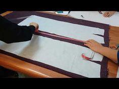 Düz Dar Etek Kalıbında Model Uygulama - YouTube