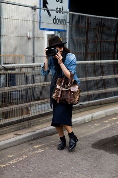"Sartorialist's ""All the pretty photographers"" series. Garance really does do it best."