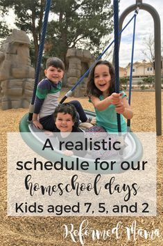 A Typical Schedule for a Mom of Three (Part One - Our Whole Day) — Reformed Mama