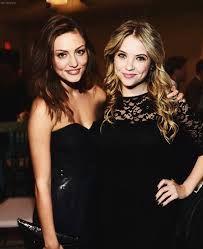 Ashley x Phoebe :3 dark dress, so cute :*