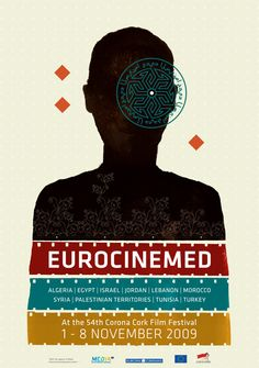 Eurocinemed Poster, por The Project Twins.
