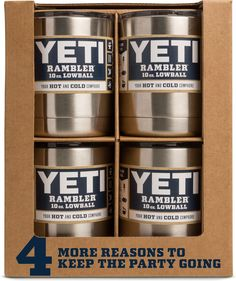 Rambler 10 oz Lowball 4 Pack